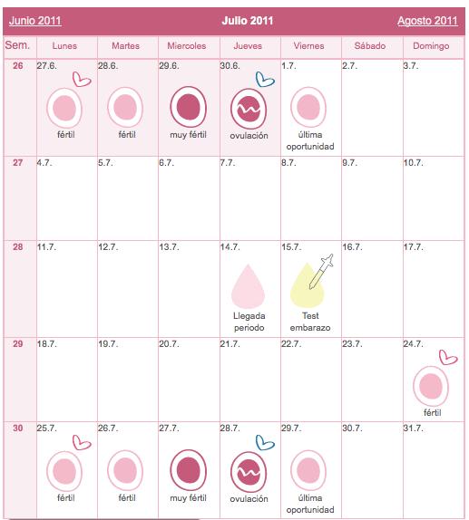 a los cuantos dias se produce la ovulacion